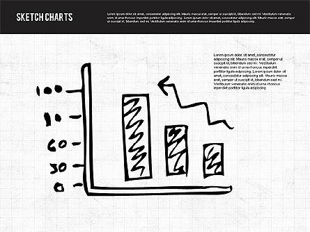 Sketch Style Charts, Slide 8, 01953, Business Models — PoweredTemplate.com