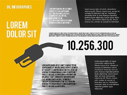Mining and Oil Production Infographics, Slide 10, 01954, Presentation Templates — PoweredTemplate.com