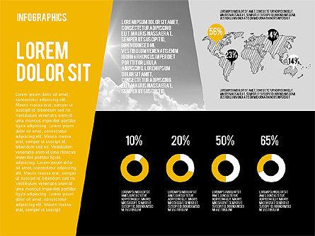 Mining and Oil Production Infographics, Slide 11, 01954, Presentation Templates — PoweredTemplate.com