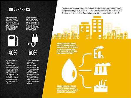 Mining and Oil Production Infographics, Slide 14, 01954, Presentation Templates — PoweredTemplate.com