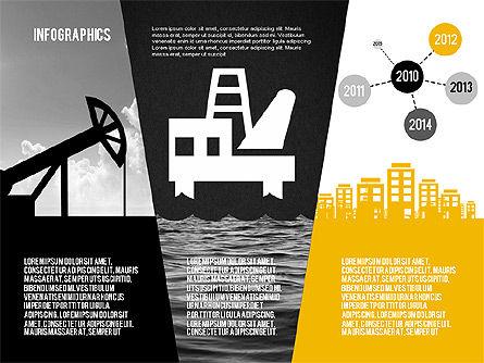 Mining and Oil Production Infographics, Slide 16, 01954, Presentation Templates — PoweredTemplate.com