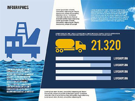 Mining and Oil Production Infographics, Slide 5, 01954, Presentation Templates — PoweredTemplate.com