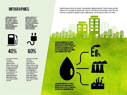 Mining and Oil Production Infographics, Slide 6, 01954, Presentation Templates — PoweredTemplate.com
