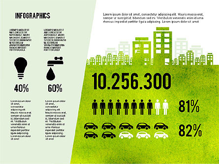 Mining and Oil Production Infographics, Slide 7, 01954, Presentation Templates — PoweredTemplate.com
