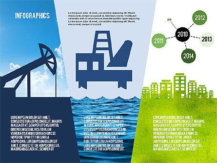 Mining and Oil Production Infographics, Slide 8, 01954, Presentation Templates — PoweredTemplate.com