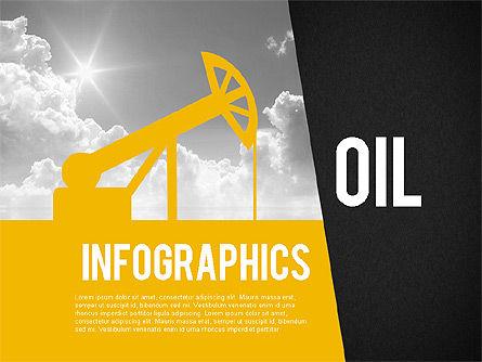 Mining and Oil Production Infographics, Slide 9, 01954, Presentation Templates — PoweredTemplate.com