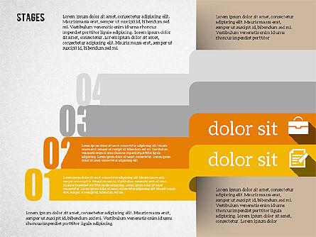 Agenda in Flat Design, Slide 6, 01956, Stage Diagrams — PoweredTemplate.com