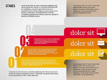 Agenda in Flat Design, Slide 7, 01956, Stage Diagrams — PoweredTemplate.com