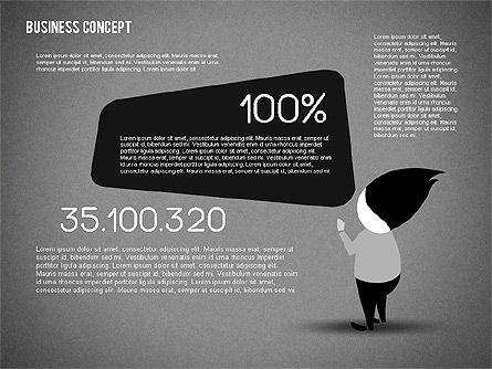Creative Business Concept Shapes, Slide 10, 01958, Shapes — PoweredTemplate.com