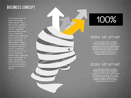 Creative Business Concept Shapes, Slide 11, 01958, Shapes — PoweredTemplate.com