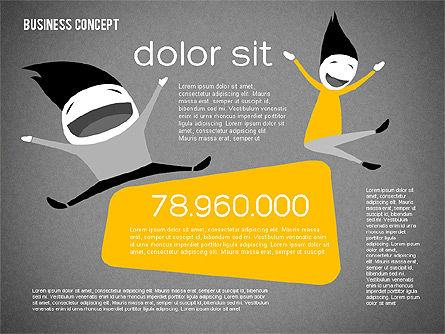 Creative Business Concept Shapes, Slide 13, 01958, Shapes — PoweredTemplate.com