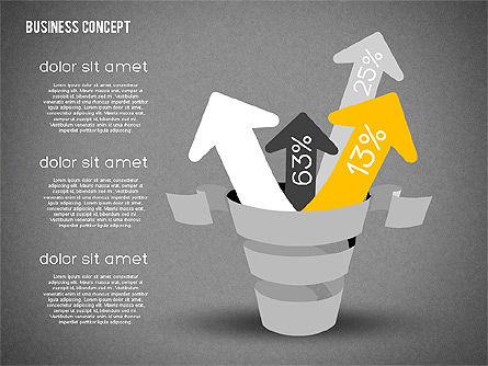 Creative Business Concept Shapes, Slide 14, 01958, Shapes — PoweredTemplate.com