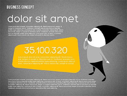 Creative Business Concept Shapes, Slide 15, 01958, Shapes — PoweredTemplate.com