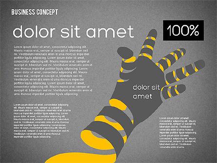 Creative Business Concept Shapes, Slide 16, 01958, Shapes — PoweredTemplate.com