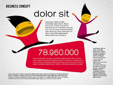 Creative Business Concept Shapes, Slide 5, 01958, Shapes — PoweredTemplate.com