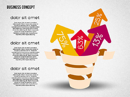 Creative Business Concept Shapes, Slide 6, 01958, Shapes — PoweredTemplate.com