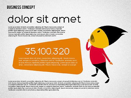 Creative Business Concept Shapes, Slide 7, 01958, Shapes — PoweredTemplate.com
