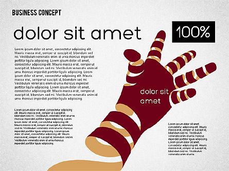 Creative Business Concept Shapes, Slide 8, 01958, Shapes — PoweredTemplate.com