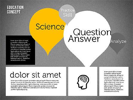 Education Concept Presentation, Slide 12, 01959, Education Charts and Diagrams — PoweredTemplate.com