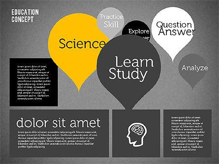 Education Concept Presentation, Slide 14, 01959, Education Charts and Diagrams — PoweredTemplate.com