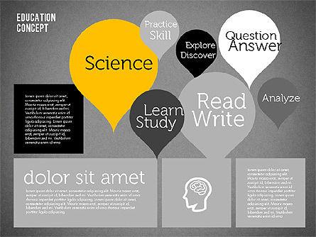 Education Concept Presentation, Slide 15, 01959, Education Charts and Diagrams — PoweredTemplate.com