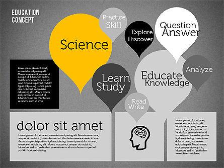 Education Concept Presentation, Slide 16, 01959, Education Charts and Diagrams — PoweredTemplate.com