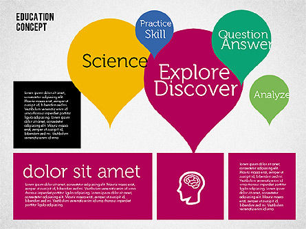 Education Concept Presentation, Slide 5, 01959, Education Charts and Diagrams — PoweredTemplate.com
