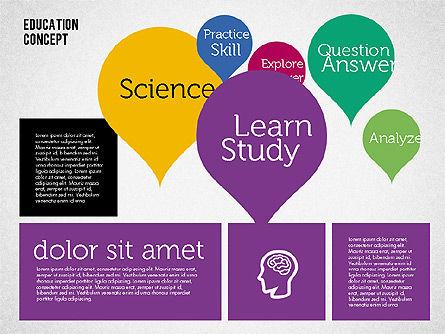 Education Concept Presentation, Slide 6, 01959, Education Charts and Diagrams — PoweredTemplate.com