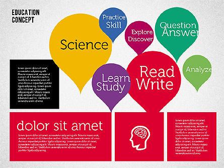 Education Concept Presentation, Slide 7, 01959, Education Charts and Diagrams — PoweredTemplate.com