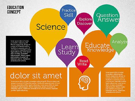 Education Concept Presentation, Slide 8, 01959, Education Charts and Diagrams — PoweredTemplate.com