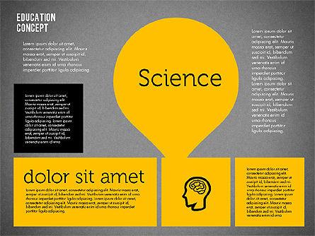 Education Concept Presentation, Slide 9, 01959, Education Charts and Diagrams — PoweredTemplate.com