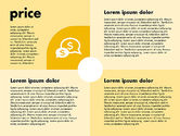 Business Models: Marketing Mix with Icons #01962