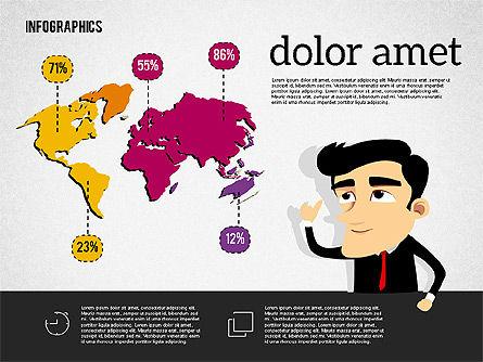 Presentation with Character, Slide 3, 01965, Business Models — PoweredTemplate.com