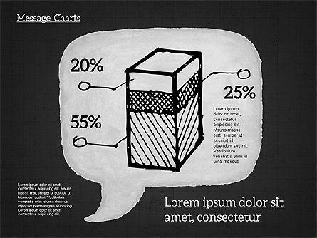 Speech Bubble with Diagrams, Slide 13, 01969, Business Models — PoweredTemplate.com