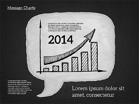 Speech Bubble with Diagrams, Slide 16, 01969, Business Models — PoweredTemplate.com