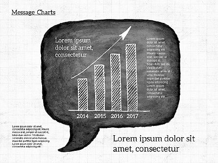 Speech Bubble with Diagrams, Slide 4, 01969, Business Models — PoweredTemplate.com