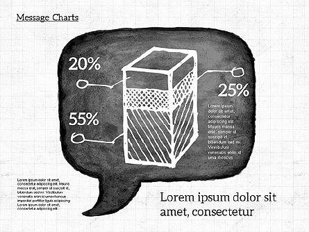 Speech Bubble with Diagrams, Slide 5, 01969, Business Models — PoweredTemplate.com