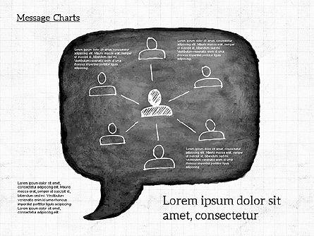 Speech Bubble with Diagrams, Slide 6, 01969, Business Models — PoweredTemplate.com