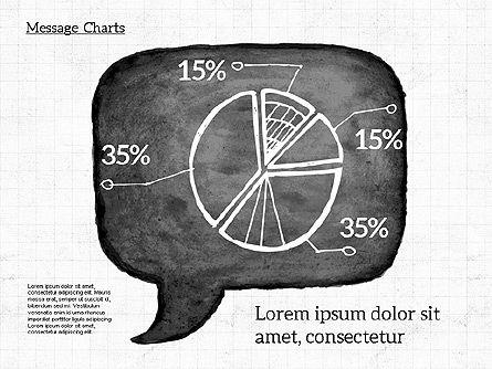 Speech Bubble with Diagrams, Slide 7, 01969, Business Models — PoweredTemplate.com