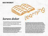 Education Charts and Diagrams: Formes d'éducation #01970