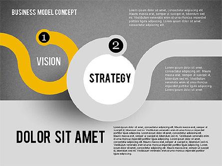 Governance Strategy Diagram, Slide 10, 01972, Business Models — PoweredTemplate.com