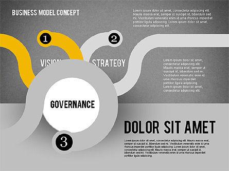 Governance Strategy Diagram, Slide 11, 01972, Business Models — PoweredTemplate.com
