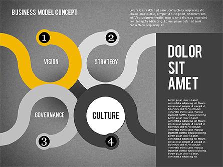 Governance Strategy Diagram, Slide 12, 01972, Business Models — PoweredTemplate.com