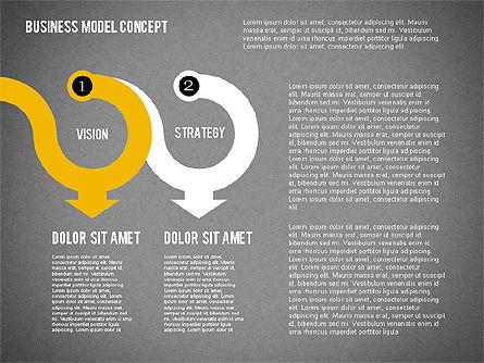 Governance Strategy Diagram, Slide 14, 01972, Business Models — PoweredTemplate.com