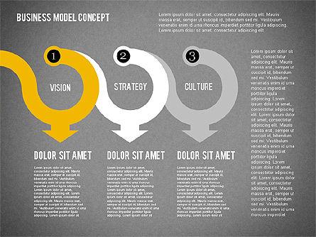 Governance Strategy Diagram, Slide 15, 01972, Business Models — PoweredTemplate.com
