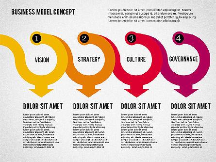 Governance Strategy Diagram, Slide 8, 01972, Business Models — PoweredTemplate.com