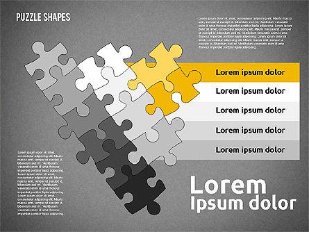 Puzzle Theme Presentation, Slide 11, 01980, Puzzle Diagrams — PoweredTemplate.com