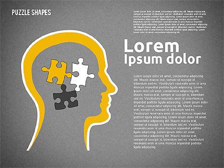 Puzzle Theme Presentation, Slide 14, 01980, Puzzle Diagrams — PoweredTemplate.com