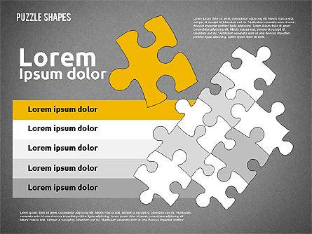 Puzzle Theme Presentation, Slide 15, 01980, Puzzle Diagrams — PoweredTemplate.com
