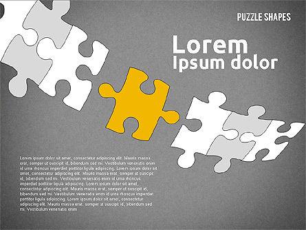 Puzzle Theme Presentation, Slide 16, 01980, Puzzle Diagrams — PoweredTemplate.com